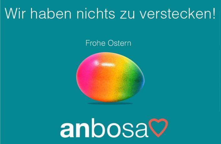 anbosa wünscht frohe Ostern