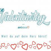 anbosa wünscht einen schönen Valentinstag