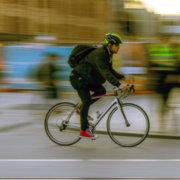 Mit dem Rad zur Arbeit und länger leben