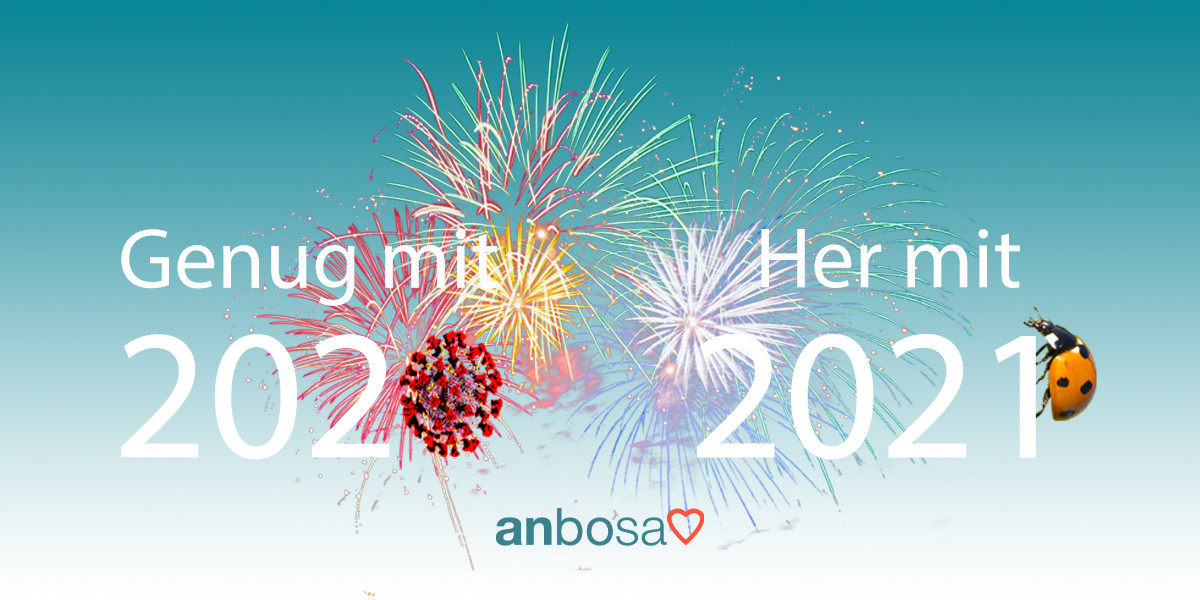 Guten Rutsch und frohes neues Jahr 2021