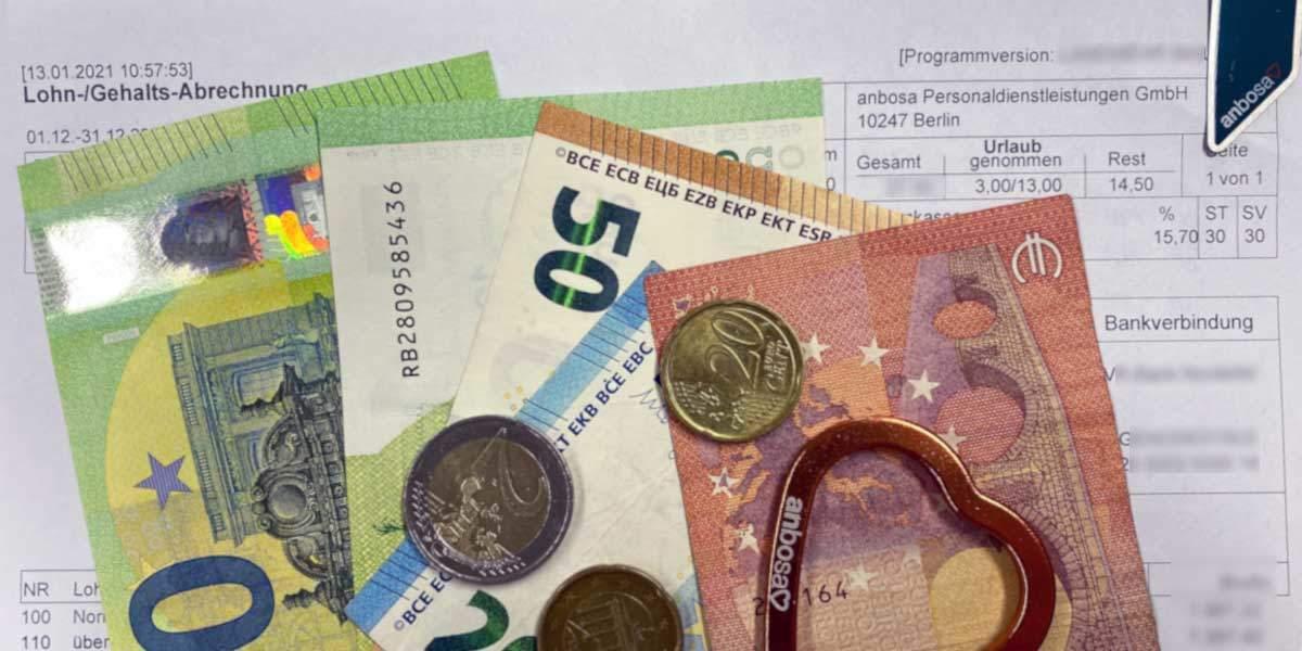 Lohnerhöhung in der Pflege! anbosa erhöht das Gehalt für Pflegekräfte.